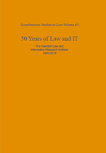 50 Years of Law and IT